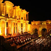 celsus-library-concert-event-at-night